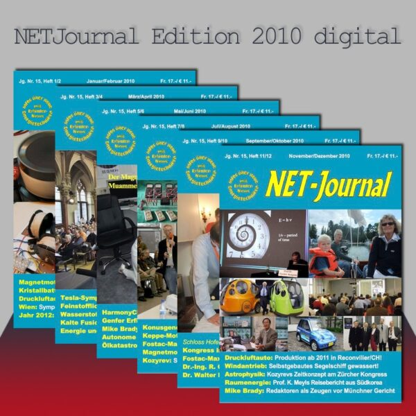 NET Journal Edition 2010 Digital Download